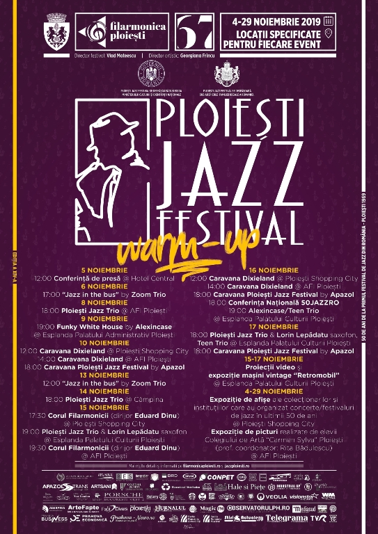 ploiesti jazz festival afis warm up