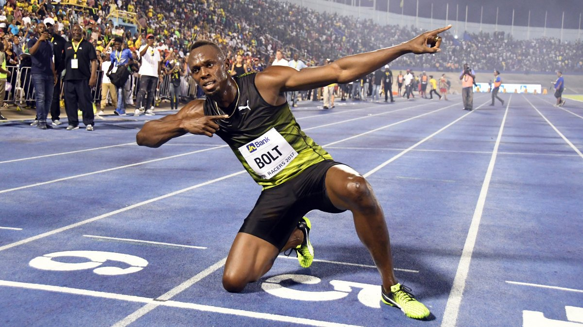 usain bolt celebration h