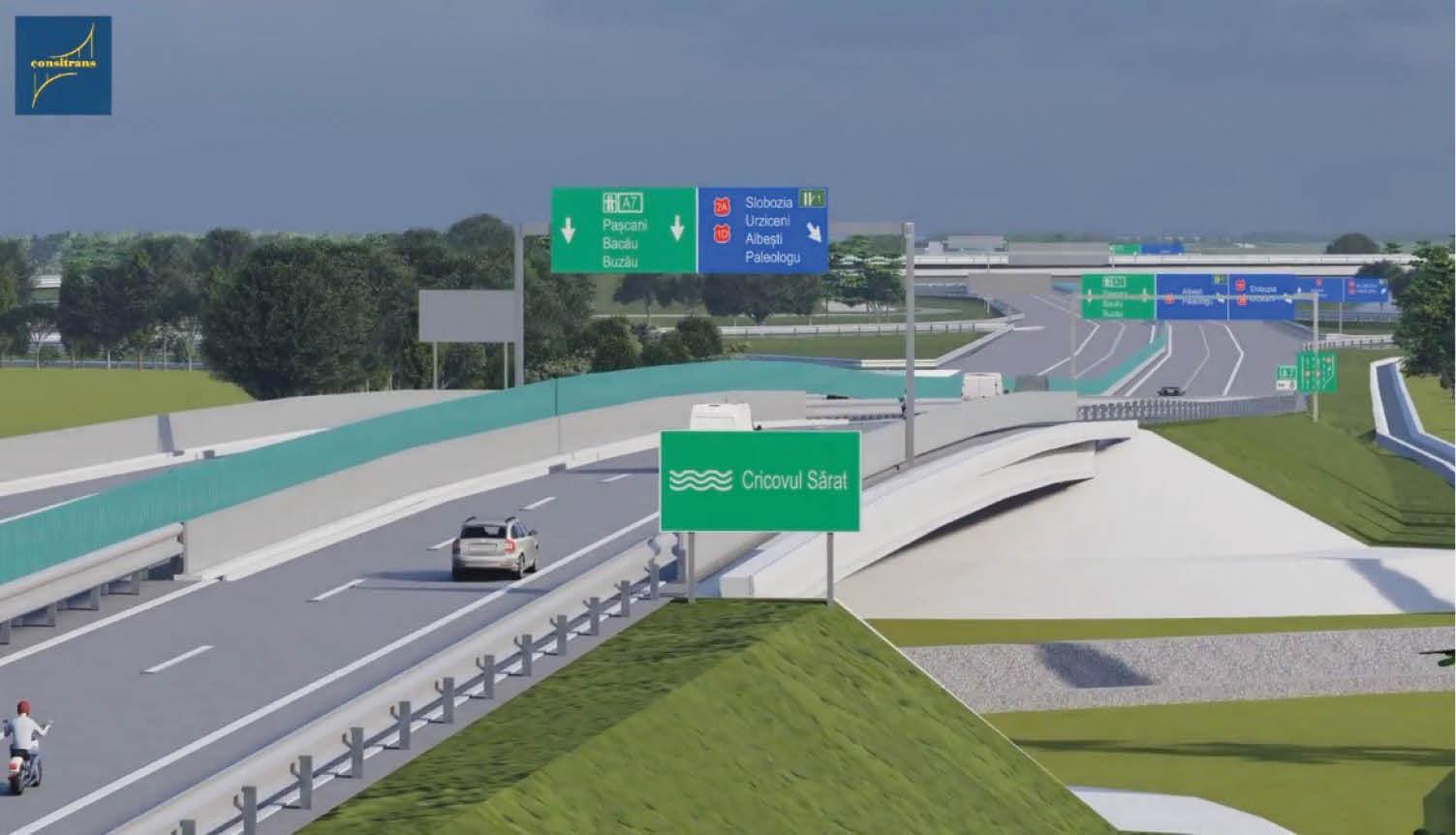 39 de oferte pentru construirea autostrăzii Ploiești – Buzău