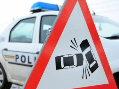 accident circulatie masina politie