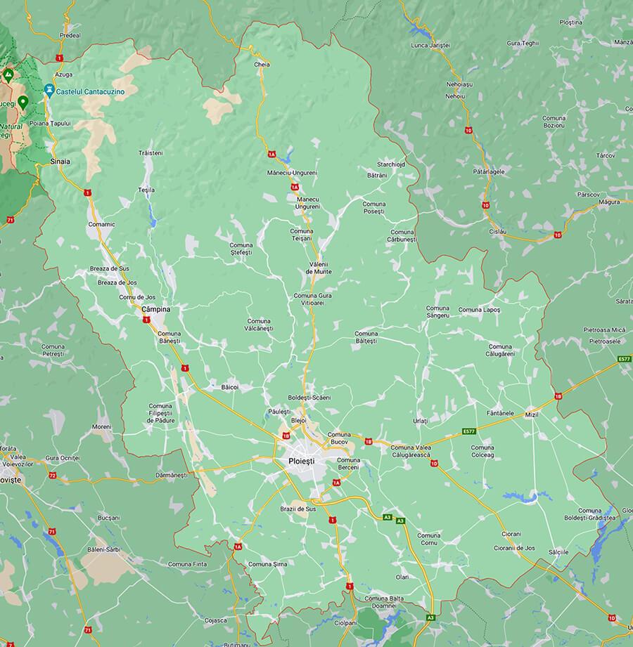 #coronavirus: Toate localitățile din Prahova rămân în scenariul verde
