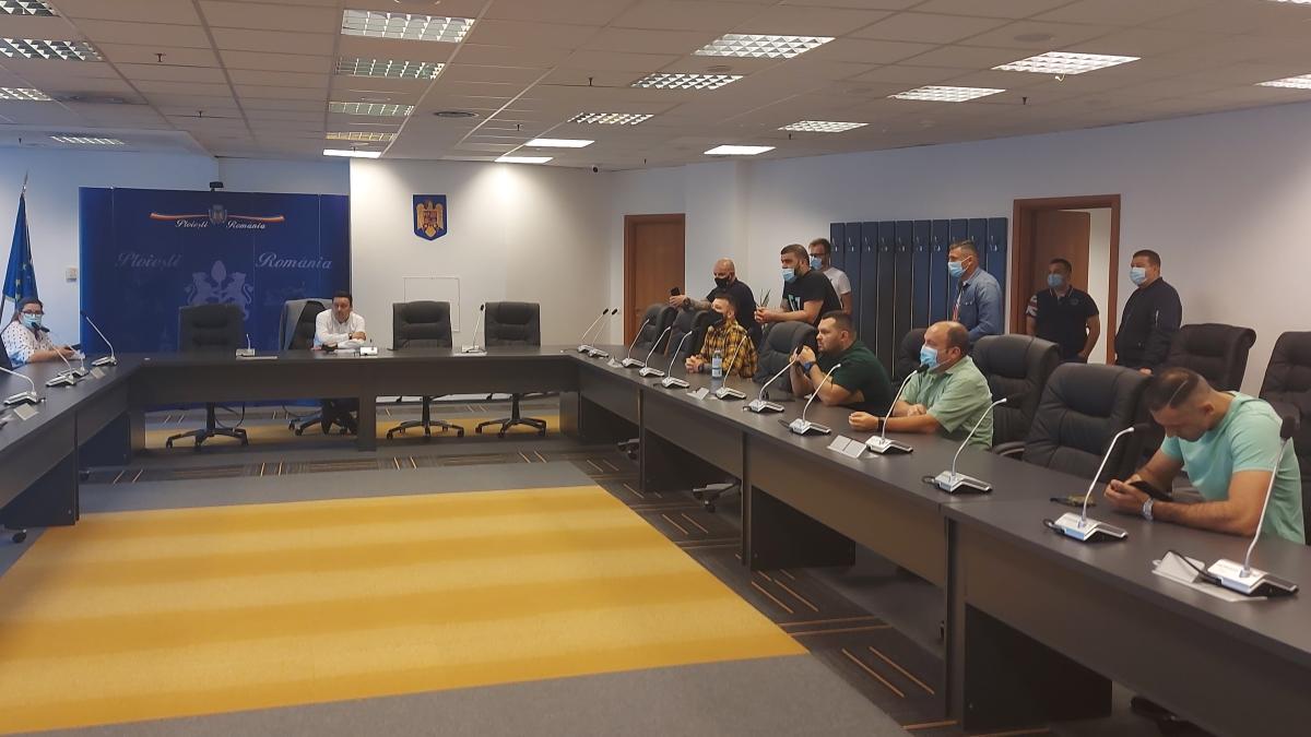 Andrei Volosevici, după şedinţa cu suporterii Petrolului: