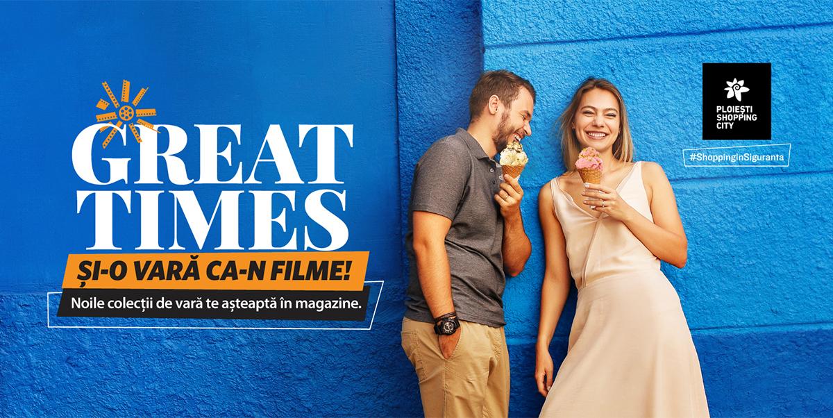La Ploiești Shopping City, vara debutează cu ținute ca-n filme și experiențe pe marile ecrane