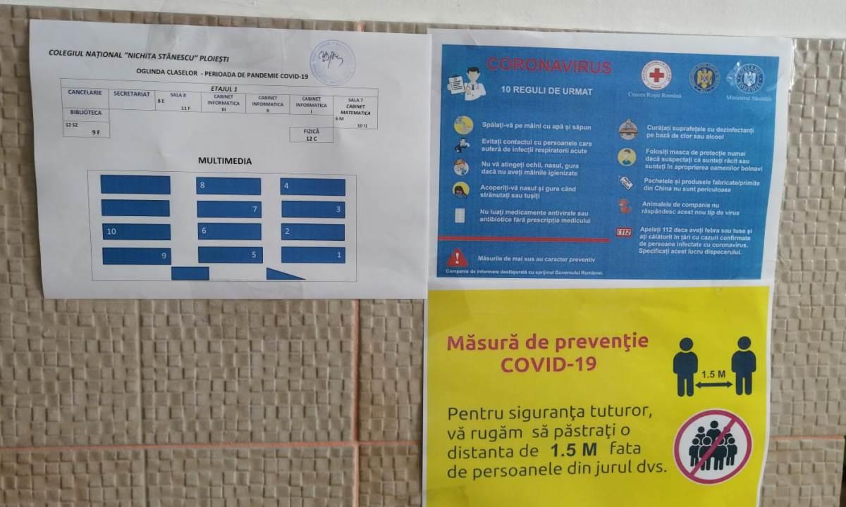 Școlile din Provița de Sus și Podenii Noi au intrat în Scenariul 1, în penultima săptămână de școală