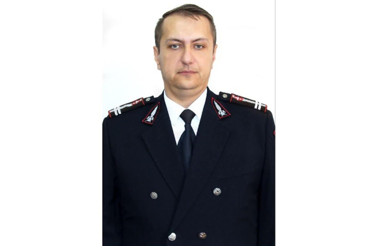 Cine este lt. col. Alexandru Muscalu, noul inspector șef al ISU Prahova