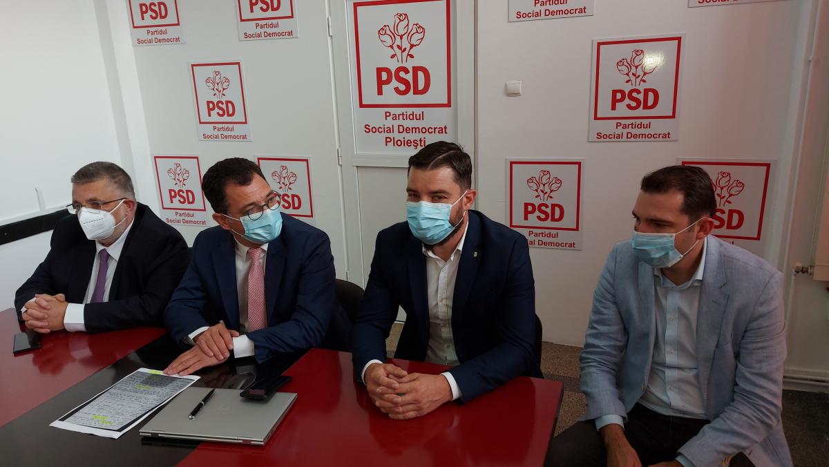 PSD cere o verificare detaliată a plăţilor făcute de Primăria Ploieşti către firma care-i pregăteşte proiectele europene