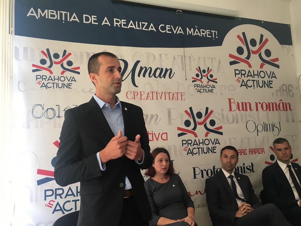 Oficial: Partidul Prahova în Acțiune demarează procedura de înlocuire a Cristinei Cochinescu și a lui Răzvan Stănciulescu din CL Ploiești