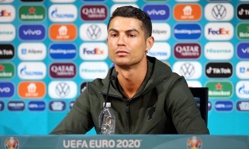 Ronaldo VS Corporația. Pierderi de 4 miliarde de euro după gestul de la conferința de presă:
