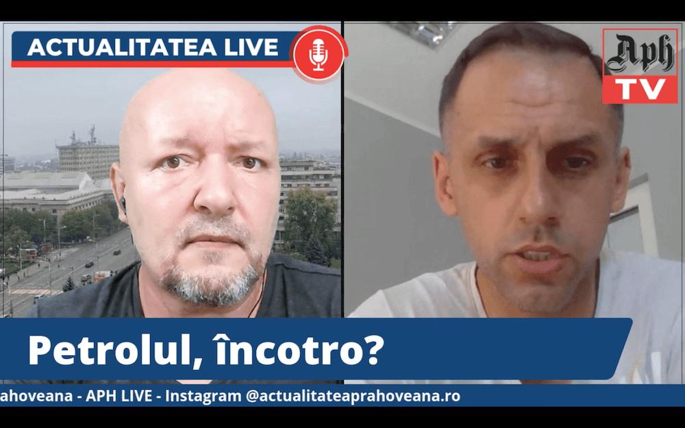 VIDEO: Petrolul, încotro? Octav Preda, invitatul jurnalistului Victor Preda la Actualitatea LIVE